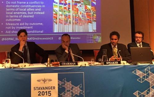 Panel at NATO